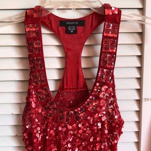 ARDEN B RED SEQUENCE TOP
